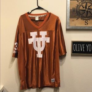 PINK Burnt Orange Texas Jersey